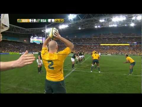 Stephen Moore Try Vs Springboks 2011