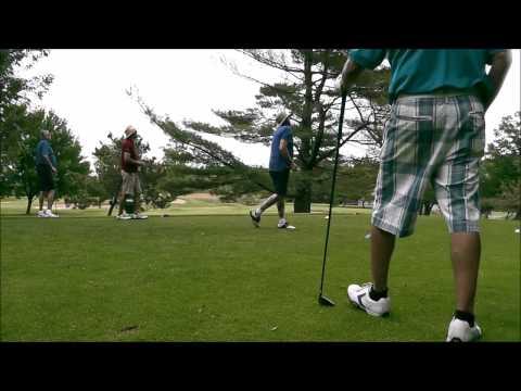 Craig Ripley, Audley Vaughan, JR  at Glen Cove Golf Course 6/614  9:15am