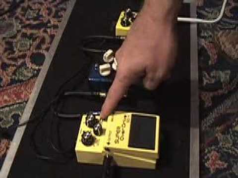 Modtone Dyno Drive Keeley mod Boss SD-1 Luther Drive pedals