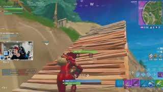 Hes Flying!! Hilarious!! Ninja Reaction to CouRageJD Impulse Kill! (Fornite Funny Moments)