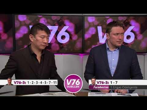V76-Duellen onsdag14. februar 2018