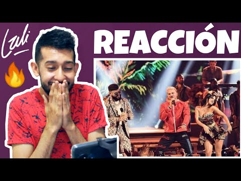 REACCIÓN Lali ft Pedro Capó Farruko - CALMA 🌴  Premios Juventud 2019