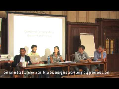 Energised communities: Morning panel discussion