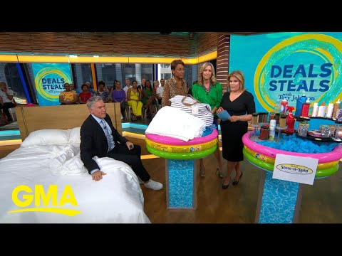 'GMA' Deals and Steals on Oprah's 'favorite' bedding, kitchen space savers and more l GMA