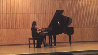 Victoria Arellano plays Chopin Variations Brillantes Op.12