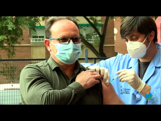 Bomberos de Murcia se vacunan contra Covid