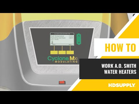 How A.O. Smith Water Heaters Work - HD Supply Facilities Maintenance