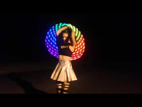 Pixie Flow Arts GALANTIS- Runaway (U & I) LED hooping