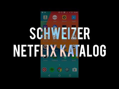 Schweizer Netflix Katalog (Juli 2017)