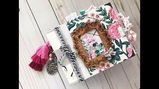 Maggie Holmes Flourish junk journal flip through 🎀🌸🌷