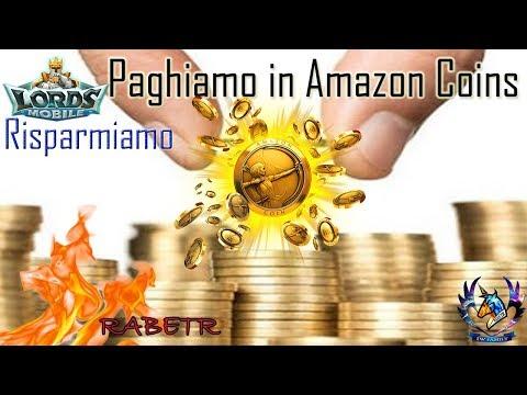 Lords Mobile Acquistiamo In Amazon Coins