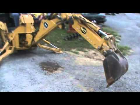 John Deere 911 Extenda Hoe Skid Steer Loader Backhoe Attachment For Bobcat  For Sale