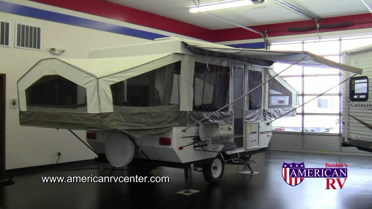 2012 Rockwood Freedom 2270 Pop Up Camper Tent Folding
