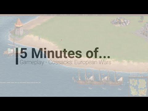 5 Minutes of... Gameplay - Cossacks: European Wars |