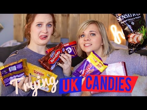 🇬🇧 TRYING UK CANDY! 🍫 (W/ Missy Lanning!)