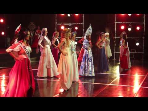 Mrs Globe 2015- National Cultural Costumes