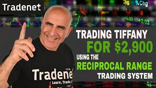Day Trading Tiffany for $2,900 using Reciprocal Range Trading System