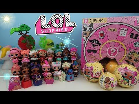 LOL Bebek Koleksiyon Challenge Lol Confetti Pop Sürpriz Yumurta renk değiştiren Bidünya Oyuncak