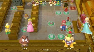 Super Mario Party Partner Party #393 Tantalizing Tower Toys Goomba & Bowser Jr vs Bowser & Daisy