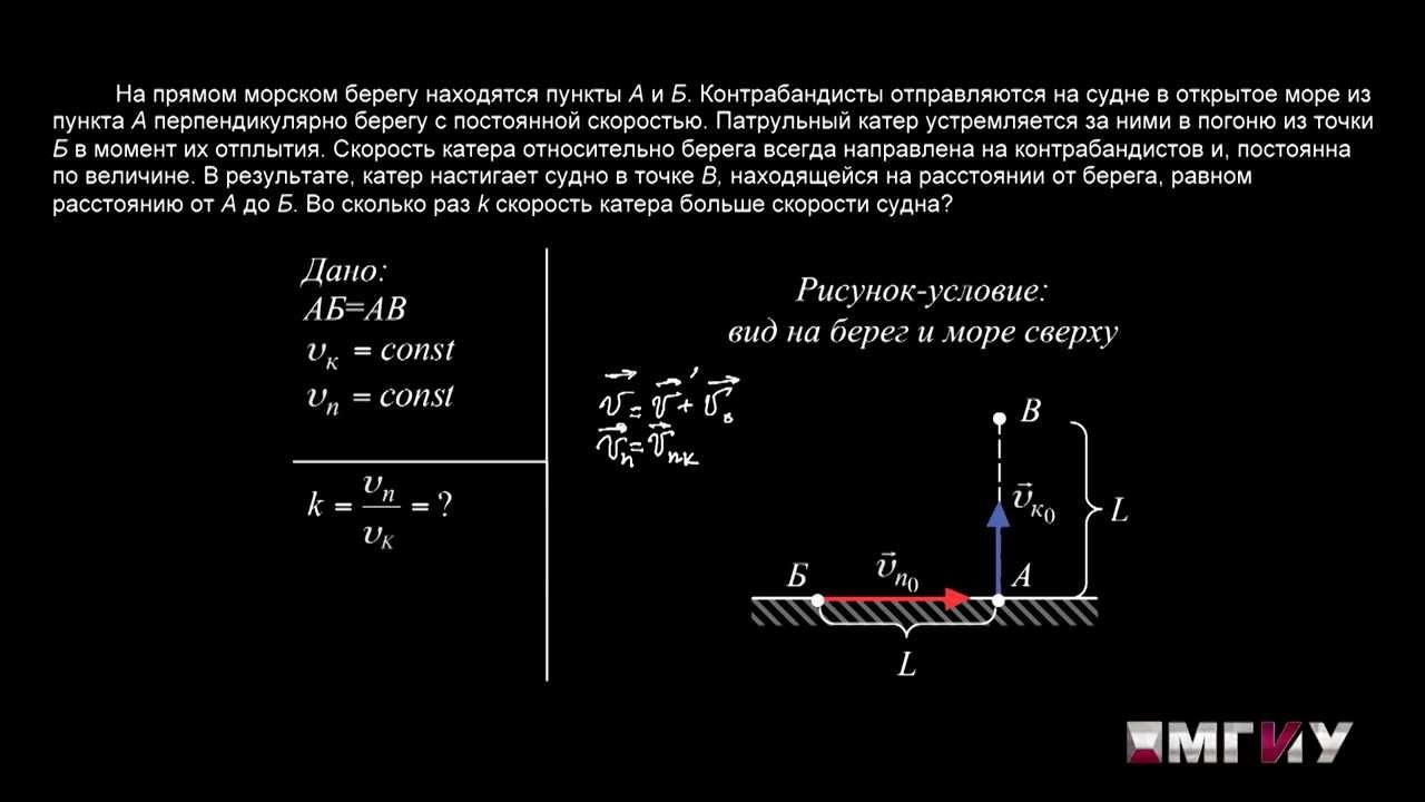Задачи по физике по кинематике с решениями задача о планировании производства пример решение
