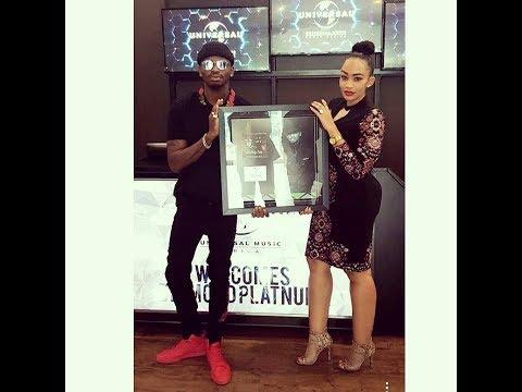 Diamond Platnumz Niwakwanza Africa, Kuweka rekodi Universal Music Group