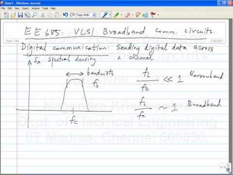 lecture1- Introduction to broadband digital communication
