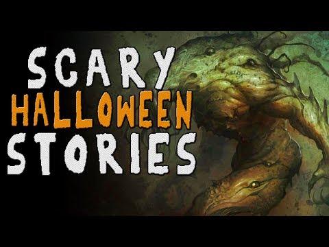 6 Halloween Horror Stories - Creepypasta + Reddit Compilation (No Sleep + Let's Not Meet)