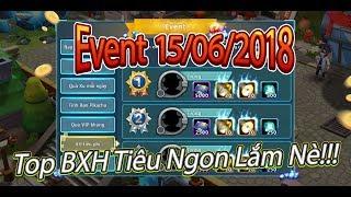 Pokemon:BXH Tiêu Phí 5000 Thẻ Cực Ngon|Event Và Thời Tiết 15/06/2018
