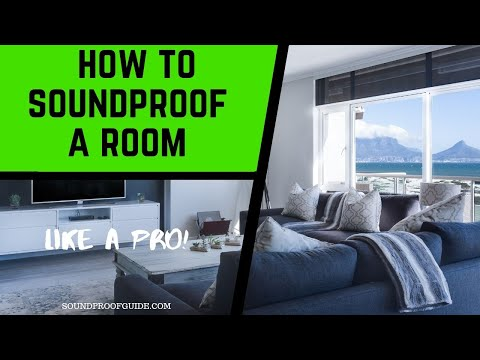 How To Soundproof A Room - DIY Home Soundproofing 101 Video