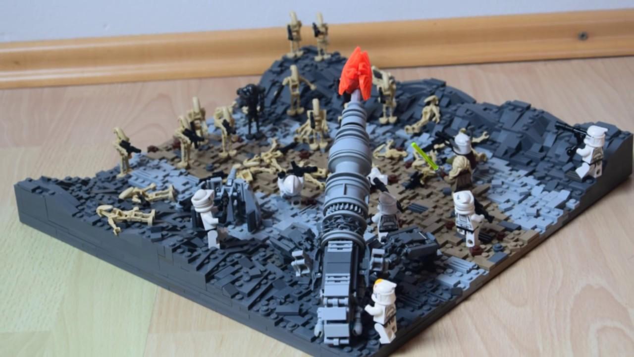 Lego Star Wars The Clone Wars Season 7 Moc On Ryloth Youtube