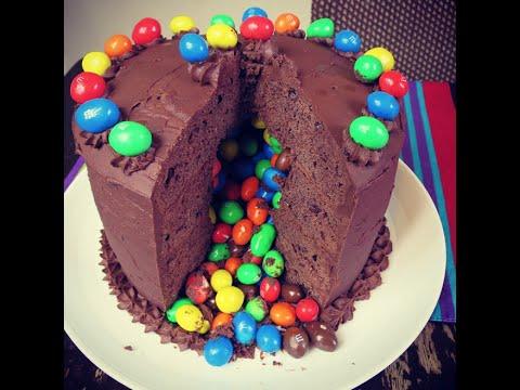 How To Make A Piñata Cake! (EASY METHOD)