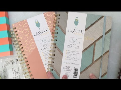 OfficeDepot haul - Inkwell Press, At-a-Glance Collection, Post-its and more