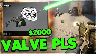 3 SECOND $2000 NEGEV ACE! 'SUPRESSING FIRE' • CSGO FUNNY WTF MOMENTS (PRO Plays,Aces,Clutch)
