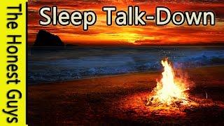 GUIDED SLEEP MEDITATION TALK DOWN. The Twilight Beach - Insomnia - Relaxation