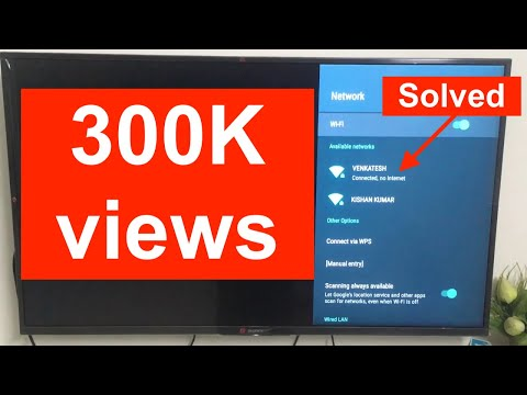 [Solved] Android TV Connected, No Internet Problem - 2020