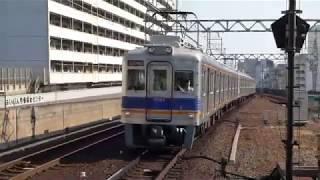 南海電鉄 6300系先頭車6314編成 新今宮駅