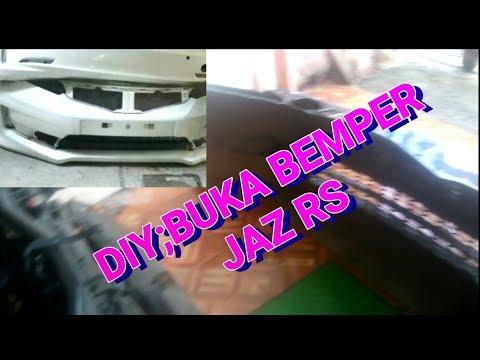 DIY;Lepas bemper depan jazz rs