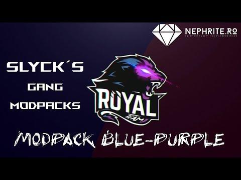 SLYCKS BLUE-PURPLE MODPACK | SA:MP