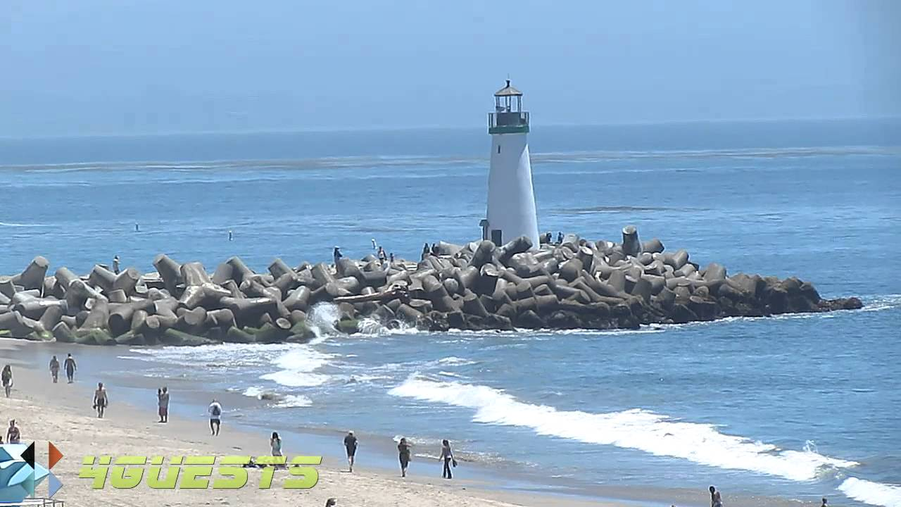 beach santa cruz Sea ca bright