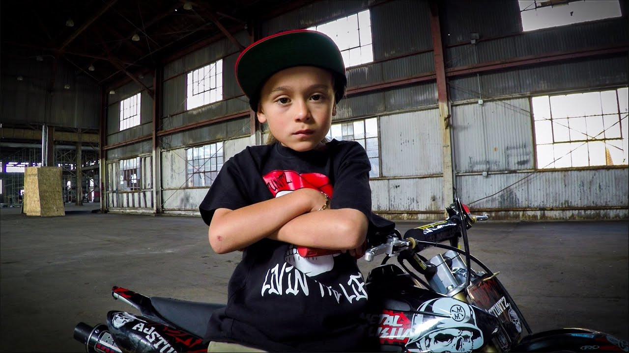 GoPro AJ Stuntz The 6 Year Old Stunt Rider