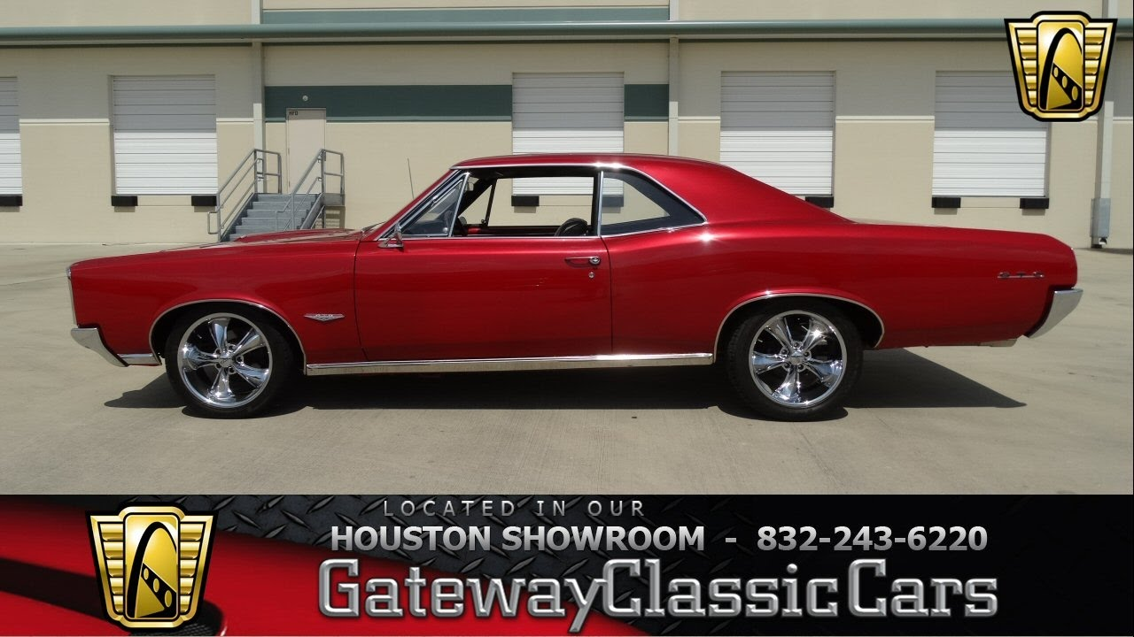 1966 Pontiac GTO Stock #421 Gateway Classic Cars Of Houston   YouTube