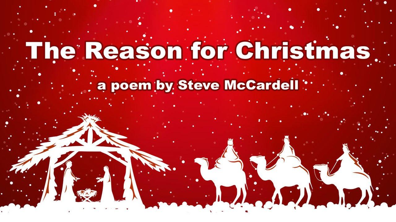 Christmas Poem: The Reason for Christmas (Christ and Christianity ...