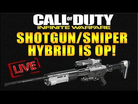 "NEW INFINITE WARFARE SNIPER/SHOTGUN HYBRID ""PROTEUS"" HAS AIMBOT! IW NEW GUNS LIVE!"