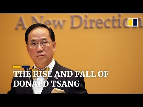 The rise and fall of former Hong Kong Chief Executive Donald Tsang