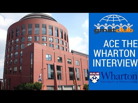 ACE THE WHARTON INTERVIEW