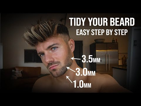 Easy & Effective Beard Tidying Tutorial!