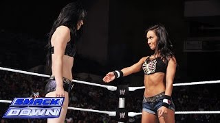 aj-lee-amp-paige-vs-summer-rae-amp-layla-smackdown-july-18-2014