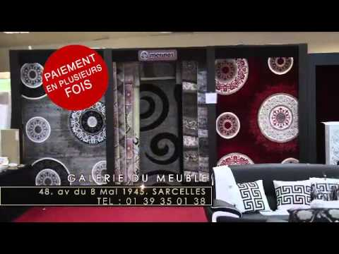 Galerie du meuble deco sarcelles 95200 youtube for Gallerie du meuble