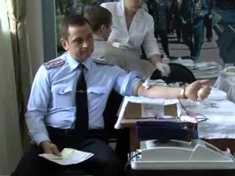 Сотрудники Нижегородского полицейского Главка сдали 30 литров крови
