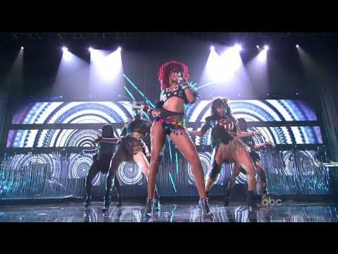 Rihanna - What's My Name + Only Girl (American Music Awards 2010) High Definition